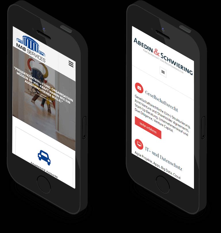 Mobilfähiges Webdesign Aachen