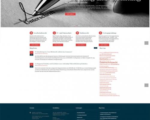 Rechtsanwalt Kanzlei Webdesign Aachen